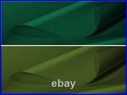 1,5m Largeur Camion Bache PVC Bâche de Bois 600g/m2 Vert Mousse Olive Vert Avec