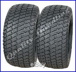 2 Paire de pneus type gazon 4 plis 20x10.00-8 pour tondeuse autoportée 20 x 10