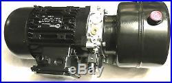 230 VOLTS 0,75 kW, POMPE HYDRAULIQUE GROUPE HYDRAULIQUE AVEC 4 lt. CUVE A MAZOUT