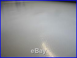 ABDECKPLANE PVC Film 3.00 en mètre largeur 680 Taille / m² gris clair