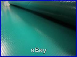 Abdeckplane PVC Film Env. 15.00 x 3.20 en 600gr/m² Holland green 29 KgLKW Bache