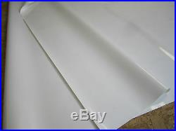 Abdeckplane PVC Film Environ 10.95 X 3.00 M en 630 Taille / M ² Blanc 20.6 kg/