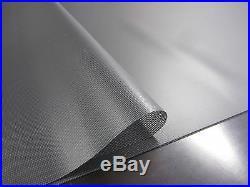 Abdeckplane PVC Film Environ 9.95 x 3.20 M en 570 Taille / ² SchwarzTransp18.3