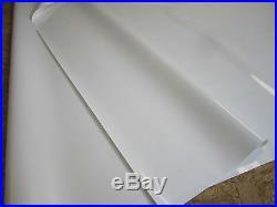 Abdeckplane PVC Film ca 8.50 x 2.50 m en 660 gr/m² Blanc 16.7 Kg/Plan De Camion
