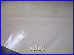 Abdeckplane Plan de Camion PVC Film 2,50 Mètres en 620 Taille / M ² Beige