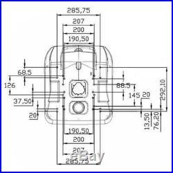 Assise Tondeuses Tracteurs Pelleteuse Convient à John Deere 480mm PVC Jaune