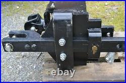 Attelage tracteur LS 80, échelle piton fixe, chape tournante, barre oscillante