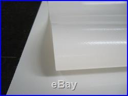 Bâche de Protection Bâche PVC pour Pl Blanc 4.20 x 4.95 Env. 680 Taille /² 15 KG
