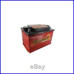Batterie 12V 80A/H 4 bornes coniques réversibles BANNER 50342 60095-2