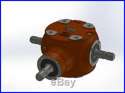 Boitier Renvoi D'angle Fonte 110cv Bondioli & Pavesi Type 2100