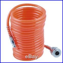 Compresseur d'air comprimé 10 bar 1,5 PS Soufflette tuyau en spirale 10 m long