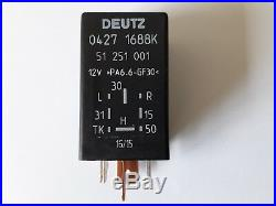 Deutz 0427 1688K GLOW PLUG RELAY