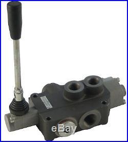 Distributeur 40 l/min hydraulique manuel monobloc de 1 à 7 fonctions 1 0