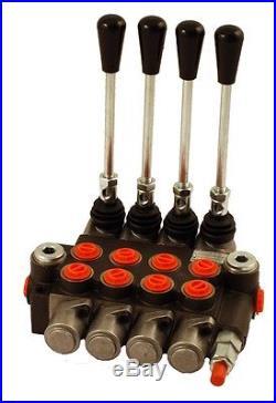 Distributeur 40 l/min hydraulique manuel monobloc de 1 à 7 fonctions 1 3