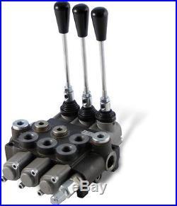 Distributeur 80 l/min hydraulique manuel monobloc de 1 à 6 fonctions 0 4