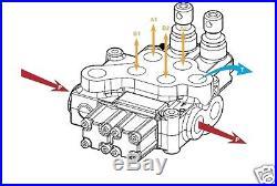 Distributeur Hydraulique A Commande Manuelle 80l/min Nbre De Manette Au Choix