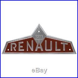 Emblème frontal marron pour Claas / Renault D 16