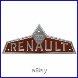 Emblème frontal marron pour Claas / Renault N 73