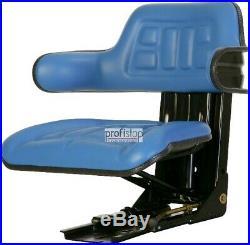 FORD 2000 2600 2610 3000 3600 3910 Siège Tracteur bleu adapté