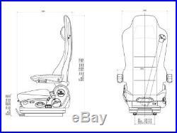 Grammer Kingman Comfort MSG 90,5 90,6 PG Mercedes-Benz Actros MP II / III