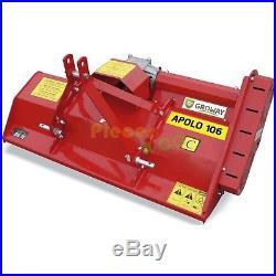 Gyrobroyeur 16-30 cv 132 cm APOLO 132 C hauteur réglable 3-10 cm 40 lames