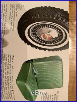 Jeep CJ5 Tuxedo Park hubcaps