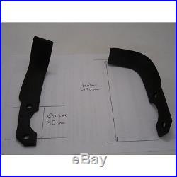 Jeu De 10 Couteaux Droit + 10 Gauche Motoculteur Staub R0000136