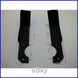 Jeu de 10 Couteaux Droits + 10 Gauches Motoculteur Staub R0000138