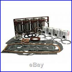 Kit Moteur Case IH D206 adaptable Case 258, 3230, 584, 585, 585XL, 595, 595XL