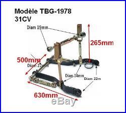 Kit attelage, CAT 1 Micro Tracteur Kubota B Series 31CV Iseki, Yanmar (TBG-1978)