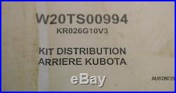Kit distributeur arrière 2 Fonctions KUBOTA pour B1220 B1620 B1820 B2420 neuf