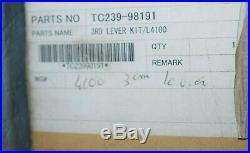 Kit levier 3ème position KUBOTA TC239-98191 pour tracteur L4100 neuf