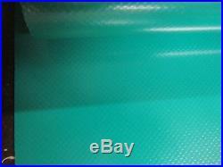 Lkw Bâche Recouvrement PVC Feuille 2,50 en Mètre Largeur 680 Taille / M ²