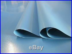 Lkw Bâche Recouvrement PVC Feuille 3.00 Mètres en 900 Gr / M ² Lambert Ral 5012