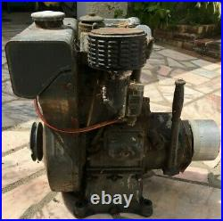 Moteur BERNARD W110 avec embrayage 200 CM3 4cv