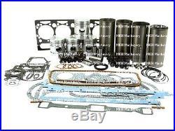 Moteur Révision Kits pour Massey Ferguson 65 158 165 Tractors. AD4.203 avec V /
