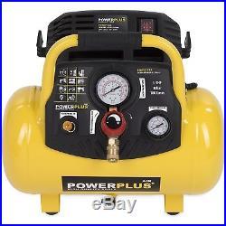 POWERPLUS 1,5 PS druckluft-kompressor 10 BAR luftverdichter