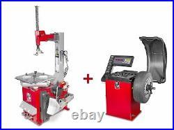 Pack démonte-pneu et équilibreuse de roues BT100M+BB200 MW-Tools SET BT100M + B