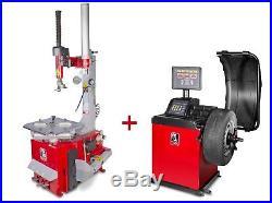 Pack démonte-pneu et équilibreuse de roues BT200+BB300 MW-Mach BT200 SET3