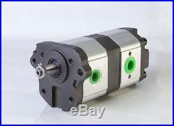 Pompe Hydraulique Hpm 11 + 8 CCM Massey Ferguson Landini 3595202m91 3597692m91