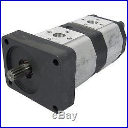 Pompe Hydraulique Hpm 12 + 9 CCM Valtra Valmet 32905600 3366500 3752300 731310