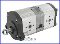 Pompe Hydraulique Hpm 14.6 + 8 CCM John Deere Renault 0510565038 7700030851