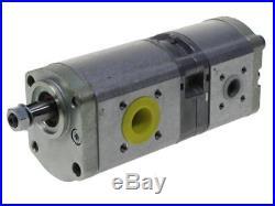 Pompe hydraulique double d2/ 25cc + 11cc pour Hurlimann XM 120