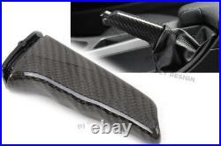 Pour BMW E38 Tuning Véritable Charbon Handbrake Frein à Main Handbremszuggriff