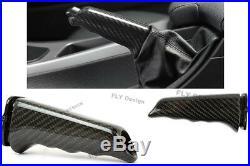 Pour BMW E92 m3 Mise au Point Véritable Charbon Handbrake Levier de Frein à Main