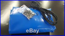Remorque Surface Plane Incl. Accessoire PVC 650g / Qm Jusqu'À 1,80m Longueur