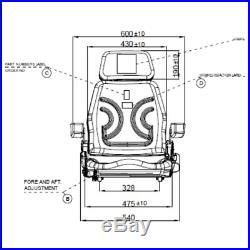Siège de Tracteur Chariot Élévateur Sitzoberteil Complet Adapte Grammer S85/90