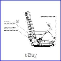 Siège de Tracteur Chariot Élévateur Sitzoberteil Complet Convient Gammer S85/90