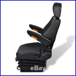 Siège de Tracteur avec Accoudoir et Appuie-tête Chaise pour Bureau Imperméable