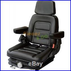 Siège de tracteur RM63B 100 PVC Noir